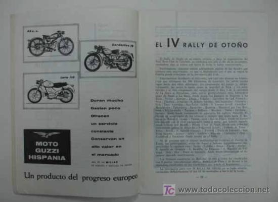 Coches y Motocicletas: REAL MOTO CLUB DE CATALUÑA. BOLETÍN INFORMATIVO. 1963. Nº 23 - Foto 3 - 13896396