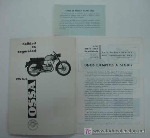 Coches y Motocicletas: REAL MOTO CLUB DE CATALUÑA. BOLETÍN INFORMATIVO. 1963. Nº 23 - Foto 2 - 13896396