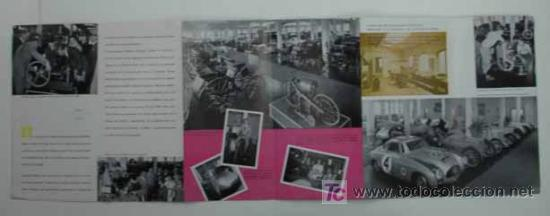 Coches y Motocicletas: UN VIAJE RETROSPECTIVO. 1883 - 1954. MOTORES MERCEDES BENZ. TRÍPTICO. - Foto 2 - 17057202
