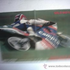 Coches y Motocicletas: CARTEL SITO PONS CAMPEON DEL MUNDO 1988 250 CC HONDA. Lote 27254865