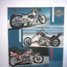 Coches y Motocicletas: CARTEL HARLEY DAVIDSON. Lote 27228602