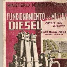 Voitures et Motocyclettes: FUNCIONAMIENTO DEL MOTOR DIESEL. Lote 27621823