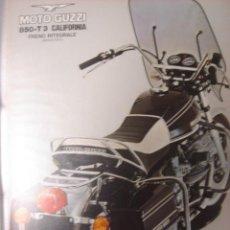 Coches y Motocicletas: CATALOGO TECNICO ORIGINAL MOTOCICLETA MOTO GUZZI 850 T 3 CALIFORNIA.. Lote 14476318