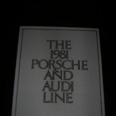 Coches y Motocicletas - PORSCHE AUDI GAMA - CATALOGO PUBLICIDAD ORIGINAL - 1981 - USA - 14720193