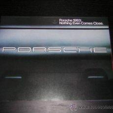 Coches y Motocicletas - PORSCHE AUDI GAMA - CATALOGO PUBLICIDAD ORIGINAL - 1983 - USA - 14720237