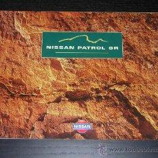 Coches y Motocicletas: NISSAN PATROL GR - CATALOGO PUBLICIDAD ORIGINAL - 1999 - ESPAÑOL. Lote 14752206