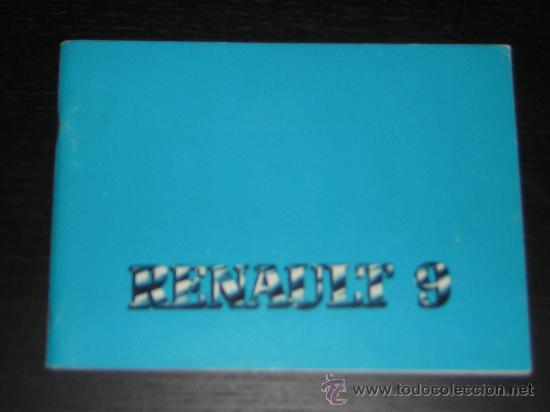 renault 9 manual usuario original 1982 es comprar cat logos rh todocoleccion net manual de usuario renault 9 pdf manual de usuario renault megane 99