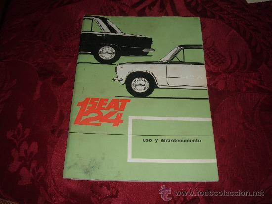 CATALOGO SEAT 124 USO Y ENTRETENIMIENTO (Coches y Motocicletas Antiguas y Clásicas - Catálogos, Publicidad y Libros de mecánica)