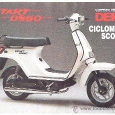 Derbi scooter ds50 start comprar cat logos publicidad y for Catalogo derbi