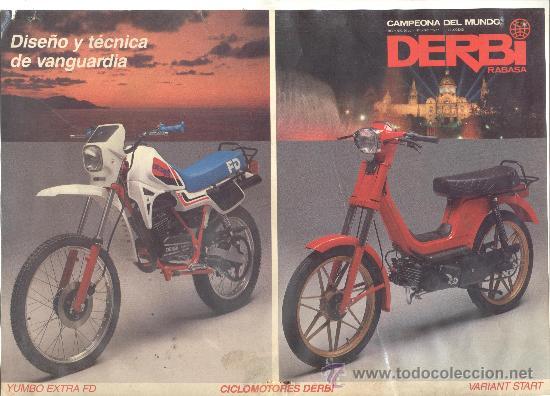 Derbi yumbo extra fd variant start comprar cat logos for Catalogo derbi