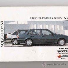 Coches y Motocicletas: MANUAL DE INSTRUCCIONES VOLVO 440/460 AÑO 1992 CASTELLANO. Lote 26469100