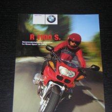 Coches y Motocicletas: BMW R 1100 S - CATALOGO PUBLICIDAD ORIGINAL - 2000 - ESPAÑOL . Lote 14984699