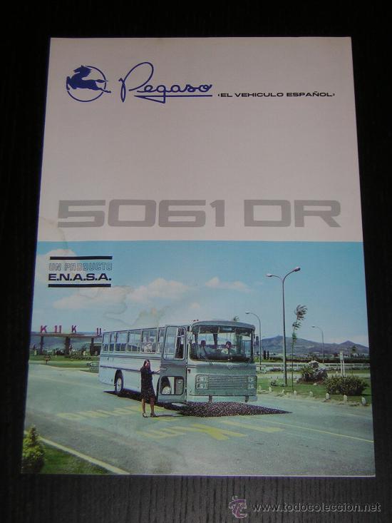 PEGASO 5061 DR AUTOCAR - CATALOGO PUBLICIDAD ORIGINAL - 1970 - ESPAÑOL (Coches y Motocicletas Antiguas y Clásicas - Catálogos, Publicidad y Libros de mecánica)