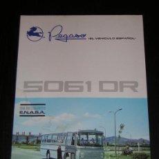 Coches y Motocicletas: PEGASO 5061 DR AUTOCAR - CATALOGO PUBLICIDAD ORIGINAL - 1970 - ESPAÑOL. Lote 14994964