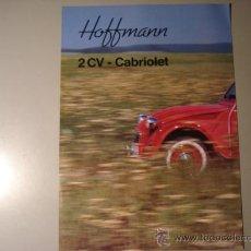 Coches y Motocicletas - CITROEN 2CV CABRIOLET HOFFMANN - CATALOGO ORIGINAL 1 - 15060505