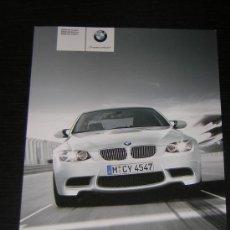 Coches y Motocicletas: BMW M3 COUPE BERLINA CABRIO - CATALOGO PUBLICIDAD ORIGINAL - 2008 - ESPAÑOL. Lote 15114349