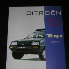 Coches y Motocicletas: CITROEN C15 TOP - CATALOGO PUBLICIDAD ORIGINAL - 2002 - ESPAÑOL. Lote 15322035