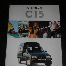 Coches y Motocicletas: CITROEN C 15 - CATALOGO PUBLICIDAD ORIGINAL - 1995 - ESPAÑOL. Lote 15322487
