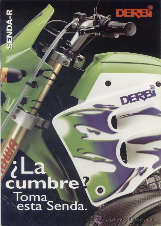 Cat logo original derbi senda r 1997 comprar cat logos for Catalogo derbi
