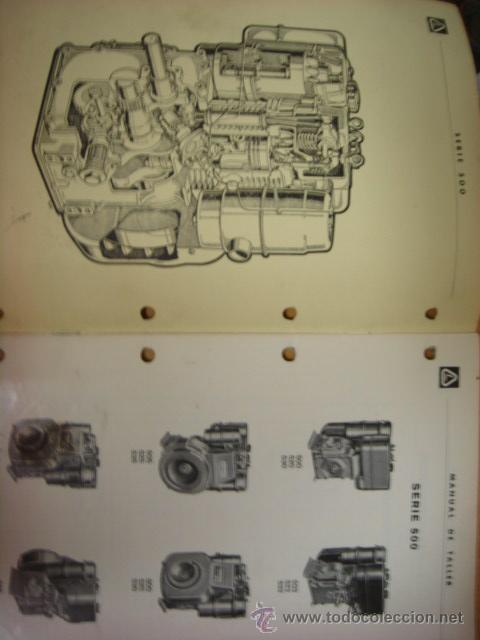 MANUAL DE TALLER.MOTORES LOMBARDINI.MOTOCULTOR.MOTOAZADA.HISPANOMOTOR SA. (Coches y Motocicletas Antiguas y Clásicas - Catálogos, Publicidad y Libros de mecánica)