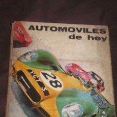 Coches y Motocicletas: QUEX LIBROS COCHES AUTOMOVIL - COMPETICION FORMULA 1 - LIBRO AUTOMOVILES DE HOY. Lote 24197179