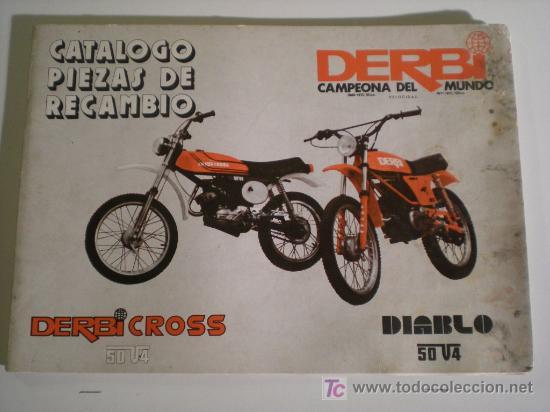 Catalogo derbi cross 50 v 4 y derbi diablo 50 comprar for Catalogo derbi