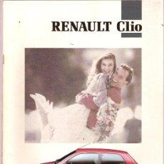 Coches y Motocicletas - CATALOGO PUBLICITARIO COCHE RENAULT CLIO - 15879520