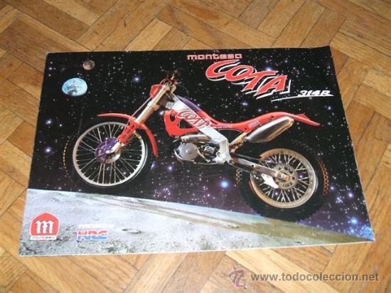 CATALOGO MONTESA COTA (Coches y Motocicletas Antiguas y Clásicas - Catálogos, Publicidad y Libros de mecánica)