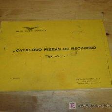 Coches y Motocicletas: CATALOGO DE DESPIECE DE MOTO GUZZI 65.. Lote 34031422