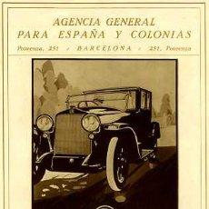 Coches y Motocicletas: CATALOGO ESPAÑOL COCHES SPA. Lote 16571835