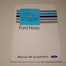 Coches y Motocicletas: MANUAL DE USUARIO FORD FIESTA MODELO 1988. Lote 26488618