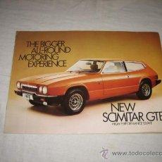 Coches y Motocicletas: NEW SCIMITAR GTE CATALOGO PUBLICITARIO ORIGINAL 1975. Lote 26714594