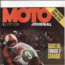 Coches y Motocicletas: REVISTA MOTRO JOURNAL Nº 68 AÑO 1972. PRUEBA: MONTESA COTA 123. PRUEBA. DUCATI 250.. Lote 22926175