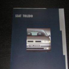Coches y Motocicletas: SEAT TOLEDO - CATALOGO PUBLICIDAD ORIGINAL - 1993 - ESPAÑOL. Lote 17164146