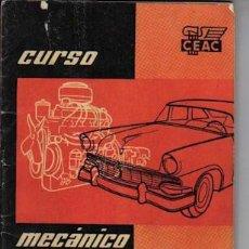 Coches y Motocicletas: CURSO MECÁNICO DE AUTOMÓVILES, DE CEAC, Nº 7. Lote 23078437