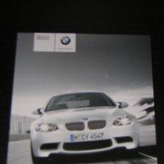 Coches y Motocicletas: BMW SERIE M3 COUPE BERLINA CABRIO - CATALOGO PUBLICIDAD ORIGINAL - 2008 - ESPAÑOL. Lote 17470148