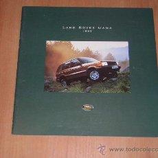 Coches y Motocicletas - LAND ROVER GAMA - CATALOGO PUBLICIDAD ORIGINAL - 1995 - ESPAÑOL - 17605708