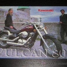 Coches y Motocicletas: KAWASAKI VULCAN 800 VN - CATALOGO PUBLICIDAD ORIGINAL - 1998 - ESPAÑOL. Lote 17639145
