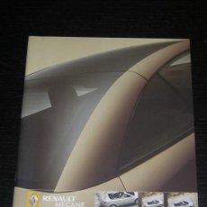 Coches y Motocicletas: RENAULT MEGANE COUPE CABRIOLET - CATALOGO PUBLICIDAD ORIGINAL - 2005 - ESPAÑOL. Lote 17959945