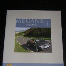 Coches y Motocicletas: RENAULT MEGANE COUPE CABRIOLET - CATALOGO PUBLICIDAD ORIGINAL - 2006 - ESPAÑOL. Lote 17959974
