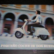 Coches y Motocicletas: VESPA 160 GT / 125 SL - CATALOGO PUBLICIDAD ORIGINAL - 1974 - ESPAÑOL. Lote 19951522