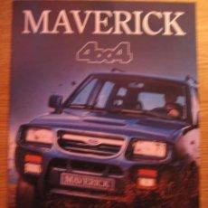 Coches y Motocicletas: FORD MAVERICK.CATÁLOGO ORIGINAL.AÑO 95.ESPAÑOL. Lote 18504220