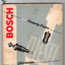 Coches y Motocicletas: CATALOGO PUBLICITARIO DE BOSCH. Lote 20036974