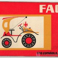Coches y Motocicletas: CATALOGO PUBLICITARIO DE FAG ESPAÑOLA S.A. TURISMOS : SEAT, CHRYSLER, RENAULT, CITROEN. Lote 20036975