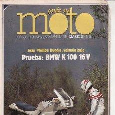 Coches y Motocicletas: FASCÍCULO GENTE EN MOTO Nº 15. PRUEBA: BMW K 100 16 V.. Lote 25877591