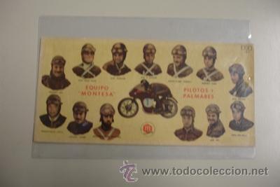 EQUIPO MONTESA PILOTOS Y PALMARES (Coches y Motocicletas Antiguas y Clásicas - Catálogos, Publicidad y Libros de mecánica)