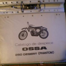 Coches y Motocicletas: OSSA DESERT PHANTOM 250 MANUAL DE DESPIECE ORIGINAL. Lote 26904440