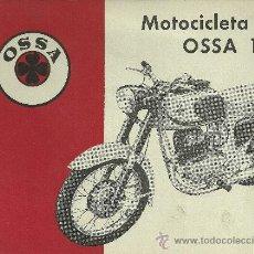 Coches y Motocicletas: OSSA MOTOCICLETA OSSA 160 ORIGINAL. Lote 19807308
