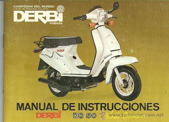 Derbi ds 50 manual de instrucciones original comprar for Catalogo derbi