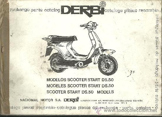 Derbi catalogo piezas recambio modelos scooter comprar for Catalogo derbi